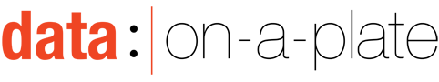 Data: On a Plate Mobile Retina Logo